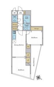 日本-东京 文京区 公寓   谷中银座的旁边, 2户型房源, 好地段, 高性价比