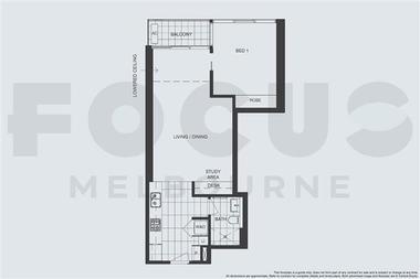 澳大利亚墨尔本-Focus富庭公寓-1居室