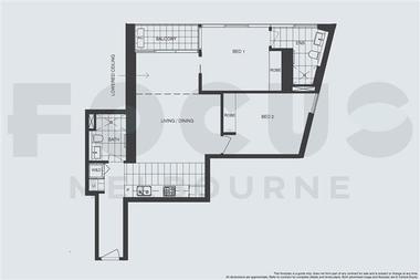 澳大利亚墨尔本-Focus富庭公寓-2居室