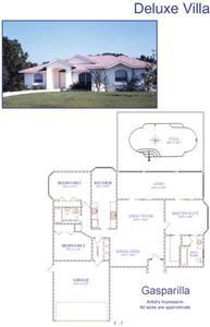 美国-3卧室别墅出售在佛罗里达州,夏洛特县,美国Rotonda