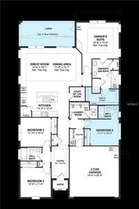 美国-4卧室独立式住宅出售在美国佛罗里达州奥西奥拉县基西米