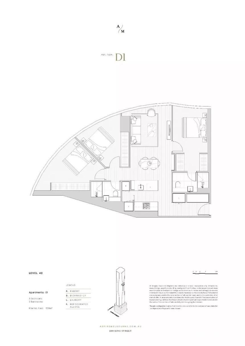 澳大利亚墨尔本-Aspire 高端公寓