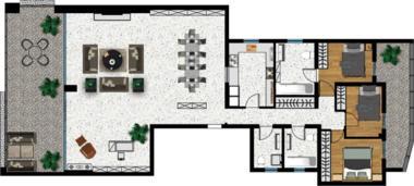 希腊雅典-英格丽公寓