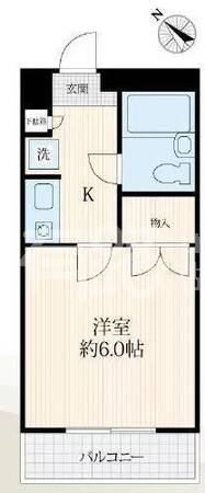 Japan-Tokyo Katsushika apartment   living area low-cost investment room, around two stations