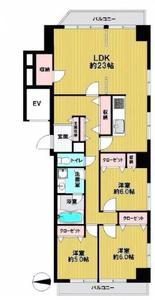 日本-日本 东京 台東区 公寓   3房1厅大户型,交通方便