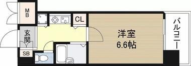 日本-大阪市 浪速区 公寓 |一分到达车站,徒步走到心斋桥