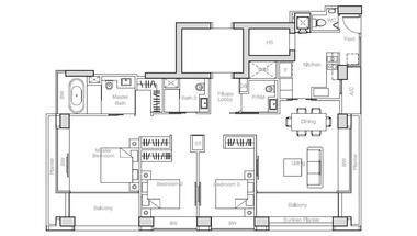 新加坡-新加坡 Nouvel 18 名筑 (D10 邮区 乌节路)