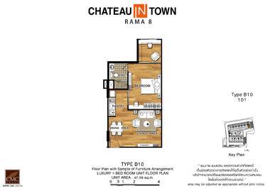 泰国曼谷-Chateau in Town Rama 8