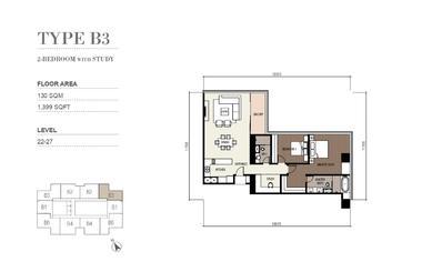 马来西亚吉隆坡-四季奢华公寓 Four Seasons Place KLCC