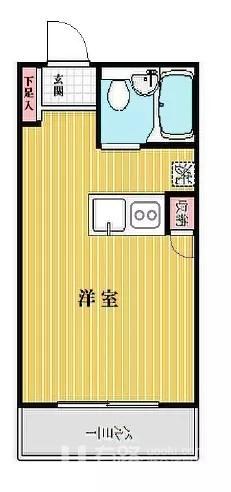 日本-日本 东京 目黑区 公寓 | 到涩谷只要2站路 生活娱乐都便利