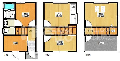 JapanOsaka-Japan's Osaka homestays sold for only 1.08 million in 2016