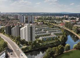·英国曼彻斯特曼城投资河景豪宅Uptown Riverside