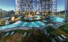 シンガポール-Singapore East MRT School District Landlord King Court Parc Esta