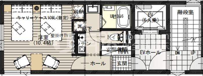 JapanTokyo-Heavy [Sky Stay] Light Hotel Project Scarce Apartment Type Homestay