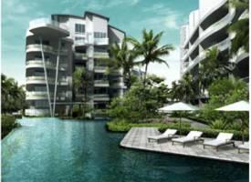 新加坡·新加坡 Turquoise (D04 邮区 圣淘沙)