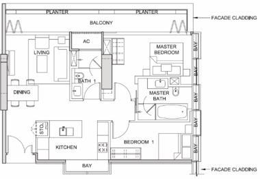 新加坡新加坡-新加坡 South Beach Residences 风华南岸府 (D07 邮区 新达城)