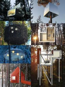 瑞典-北欧设计师树屋酒店整体出售