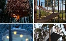 スウェーデン-Nordic designer tree house for sale