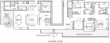新加坡-新加坡 Lincoln Suites (D11 邮区 诺敏娜)