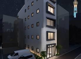 東京·Heavy [Sky Stay] Light Hotel Project Scarce Apartment Type Homestay