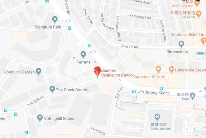 新加坡-Daintree Residence (D21 Beauty World, Singapore)
