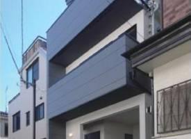 東京·A brand new 3 storey building in Shinjuku, Tokyo's core area