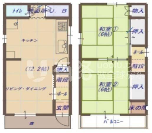 日本-Japan Osaka Higashinari-ku Guest House Ryokan