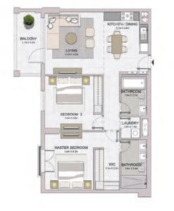 阿联酋迪拜-海蓝之帆海景公寓