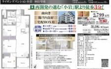 日本東京-Tokyo-Koiwa Station 3-minute walk-3LDK Apartment