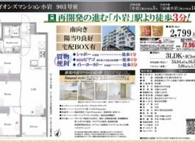东京·东京-小岩站徒步3分钟-3LDK公寓