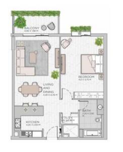 阿联酋迪拜-城市漫步北欧公寓