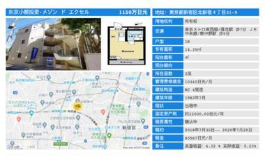 日本东京-「东京投资公寓」メゾン ド エクセル