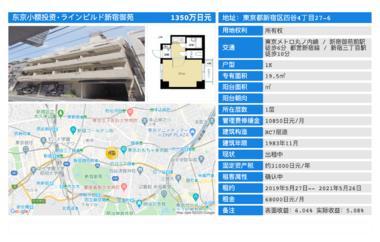 日本东京-「东京投资公寓」ラインビルド新宿御苑
