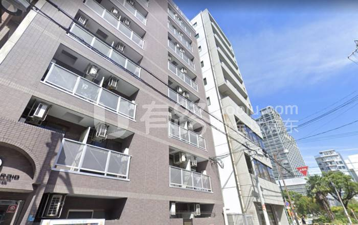 "JapanOsaka-""One Building"" NO.10-Nanba core hub stand-alone apartment building"