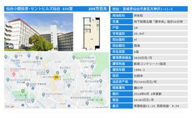 日本仙台市-「优小房·NO.126」セントヒルズ仙台