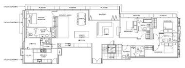 新加坡-新加坡 South Beach Residences 风华南岸府 (D07 邮区 新达城)
