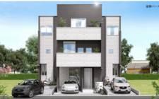 日本-Newly built a household in Kawaguchi, Saitama Prefecture to build Tokyo commuter circle