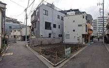 -New one-family building in Tadashi Shinmachi, Kita-ku, Tokyo