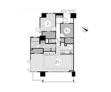 日本横滨-クリオレジダンス横濱ベイサイド7階