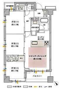 日本横滨-クオス港北ニュータウンステーションヴィラ 6階