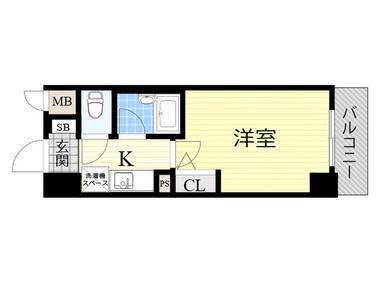 日本大阪-「大阪投资公寓」エスリード松屋町11F